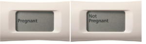 Digital Pregnancy Test Results